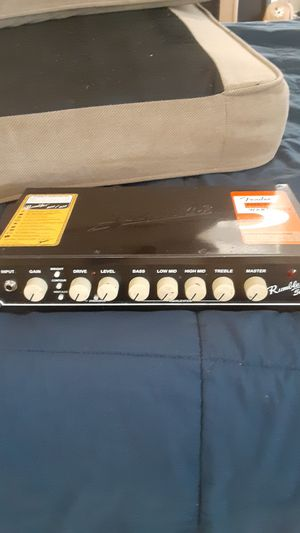Rumble 500. Fender did a great job with this bass head it hits hard. for Sale in Altadena, CA