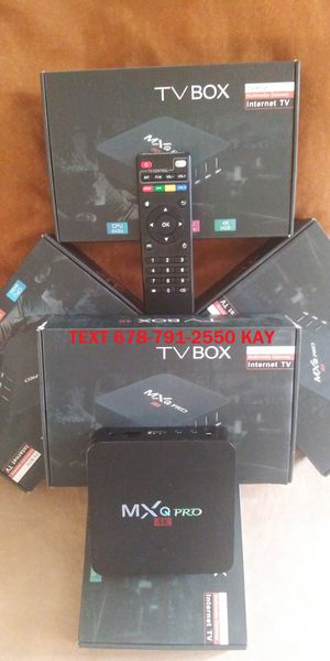 4K streaming MXQ Android Box for Sale in Forest Park, GA