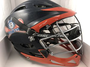 Lacrosse helmet CASCADE PRO 7 Navy & Orange for Sale in Naperville, IL