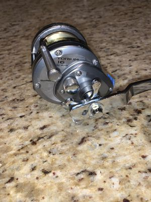 Torium 16 fishing reel for Sale in Staten Island, NY