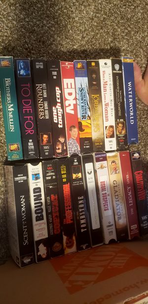 40 VHS tapes for Sale in Gulf Breeze, FL