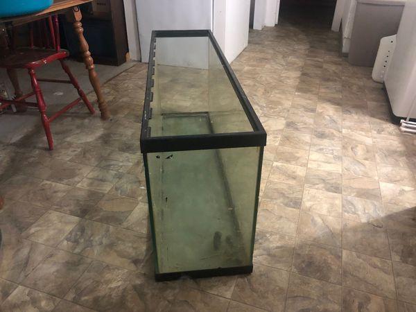 55 Gallon Skinny Glass Aquarium