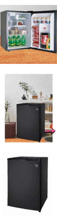 NEW Mini Fridge Single Door Refrigerator Modern Compact Fresh Freezer Black Storage Ice Cube Chamber Home Compartment Kitchen Food Grocery Room*↓READ↓ for Sale in Chula Vista, CA