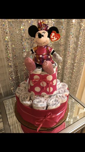 3 new Huggies Diaper cake gifts. $25 each for Sale in Tracy, CA