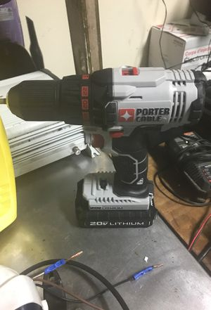 Porter cable 20v drill for Sale in Fort Walton Beach, FL