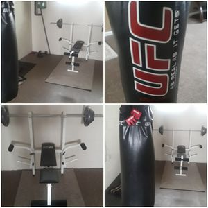 Weights/Bag for Sale in Maple Heights, OH