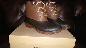 Girls sperry boots never worn for Sale in Valrico, FL