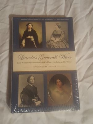 Lincoln's Generals' Wives by Candice Shy Hooper for Sale in Silver Spring, MD
