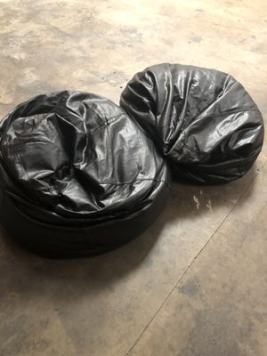 Black Twin Bean Bags!! for Sale in Santa Ana, CA
