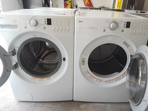 LG White Washer And Dryer for Sale in Austin, TX