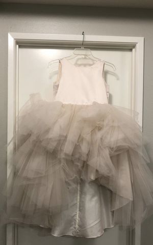 Flower girl dress size 12 Dusty Rose for Sale in Chino Hills, CA