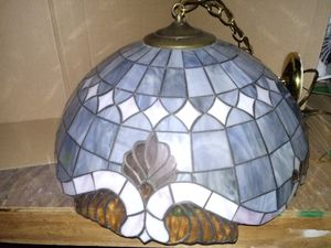 Antique stained glass lamp for Sale in St. Cloud, FL