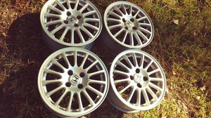 Set of 15 inch Honda Civic Wheels Alloy Jordan for Sale in Chesapeake, VA