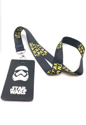 Brand New Disney's (2) pc STAR WARS Lanyard & ID Holder Set for Sale in Pomona, CA