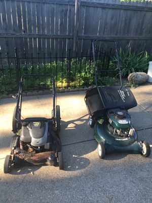 Craftsman and Yard machine lawn mowers for Sale in Cleveland, OH
