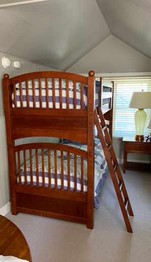 Wooden Twin Bunk Bed for Sale in Orlando, FL