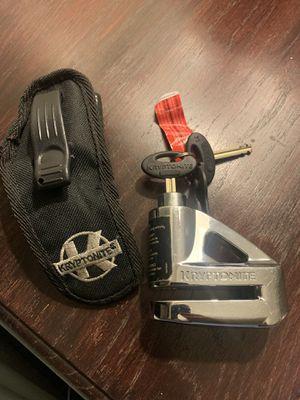 Kryptonite motorcycle disk lock for Sale in San Jose, CA