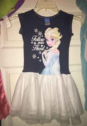 Elsa Toddler Girl Dress size 4T for Sale in Fresno, TX