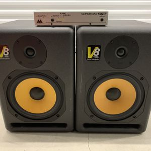KRK V8 Vintage Series 1 Studio Monitor Speakers With M Audio Super DAC 2496, Will Not Sell Separately for Sale in Tustin, CA