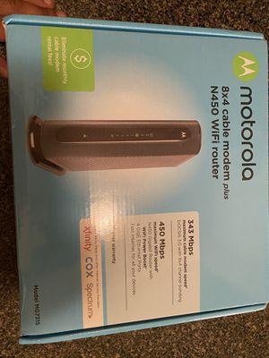 Motorola modem for Sale in Houston, TX