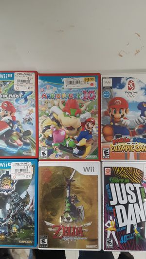 Nintendo wii and wii u games for Sale in Hermiston, OR