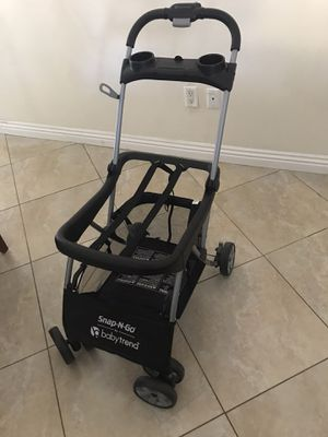 Baby Trend Snap-N-Go EX Universal Infant Car Seat Carrier Stroller for Sale in Corona, CA