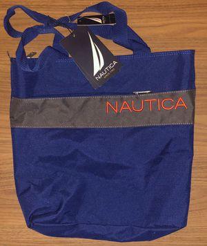 Nautica 15 in. Nautica blue tote bag new for Sale in Riverside, CA