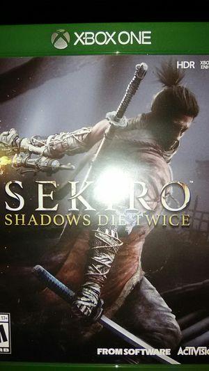 Sekiro shadows die twice/xbox one for Sale in Phoenix, AZ
