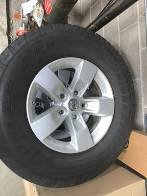 17 inch wheels and tires for Sale in Bonney Lake, WA