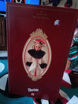 Hallmark special edition Barbie holiday memories for Sale in Nowthen, MN