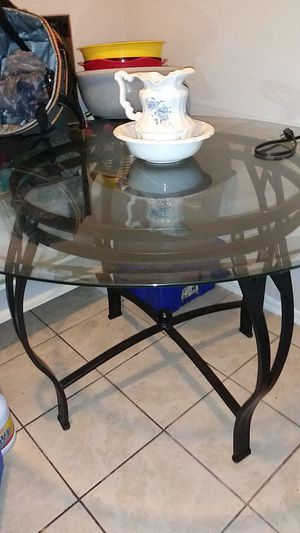 Glass kitchen table for Sale in Glendale, AZ
