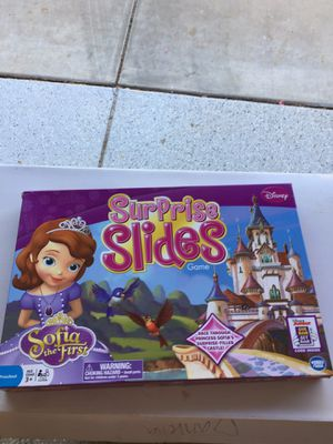 Surprise slides kids game- Sophia the first for Sale in Goodyear, AZ