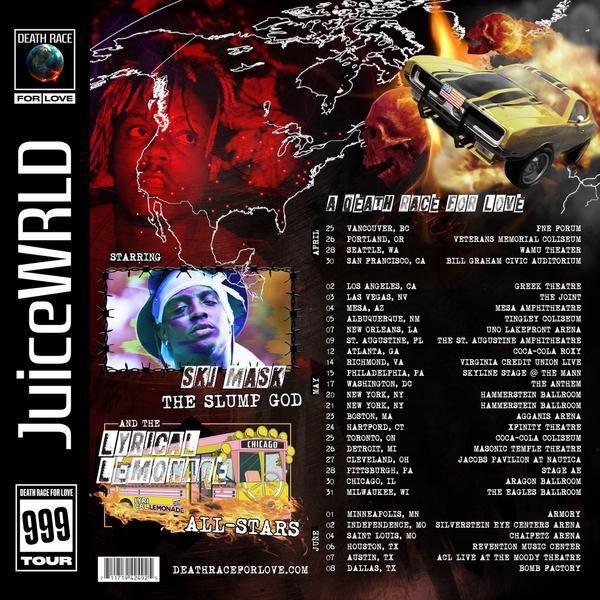 Juice Wrld Concert- SF
