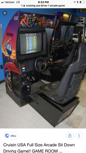 Cruising USA driver one video arcade game for Sale in Londonderry, NH