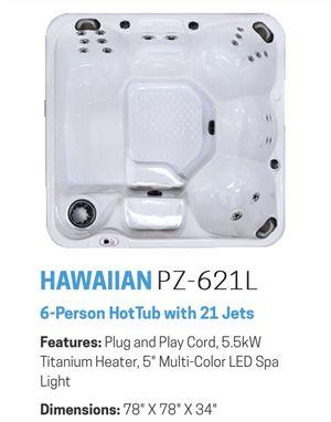 Cal Spa, model: Hawaiian PZ-621L for Sale in Big Bear, CA