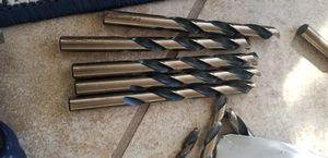 Twist drill high speed blak&gold for Sale in Port Richey, FL