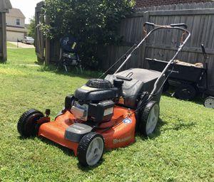 husqvarna lawn mower self propelled bagged hu700f for Sale in Hendersonville, TN
