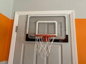 Mini basketball hoop to hang on door for Sale in Arroyo Grande, CA