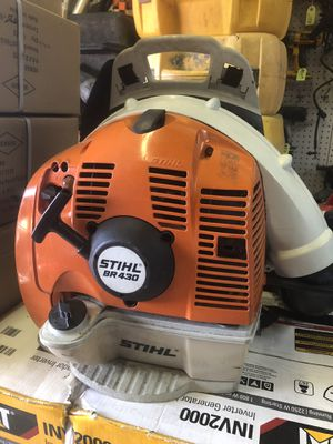 Stihl BR340 Backpack Gas Powered Leaf Blower for Sale in Hialeah, FL