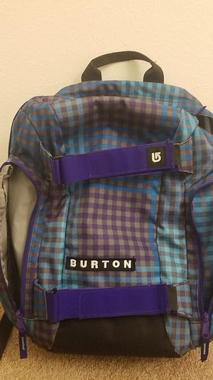 Burton bag Purple,Teal, Blue & Gray for Sale in Westminster, CO