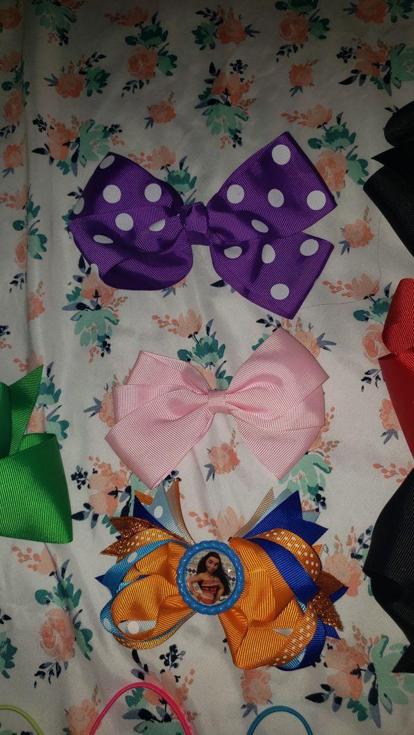 Girls Hair Bows and headbands