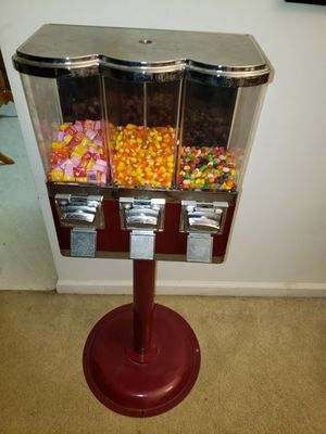 """Triple Gumball and Candy Vending Machine 42""""×6"""" for Sale in Indianapolis, IN"""