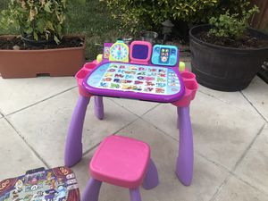 VTech Touch & Learn Activity Desk, Purple for Sale in Brentwood, CA