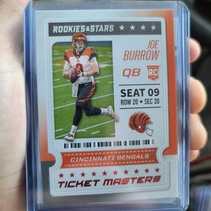 2020 Ticket Masters Joe Burrow RC for Sale in Hesperia, CA