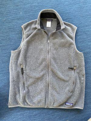 Men's Patagonia synchilla fleece vest - medium for Sale in Pittsburgh, PA