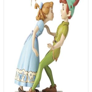 Disney Traditions Peter Pan, Wendy and Tinker Bell Figurine for Sale in Seattle, WA