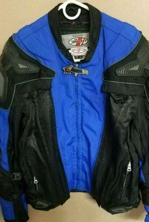 Joe Rocket M1 Tech motorcycle jacket sz L for Sale in South Lyon, MI