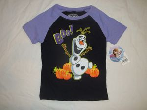 NWT Girls size 5T Frozen Olaf Halloween Shirt for Sale in Tacoma, WA