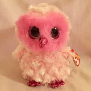 "6"" Ty Beanie Boos TWIGGY The Pink Owl NWT $10 for Sale in Mesa, AZ"