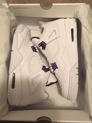 Jordan 4 Metallic Purple Size 9.5 10.5 13 for Sale in Rochester, MI